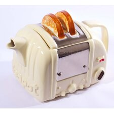 Retro Toaster Tea Pot