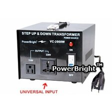 2000W Step Up / Down Voltage Transformer