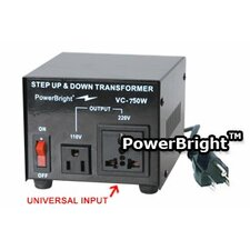 750W Step Up / Down Voltage Transformer