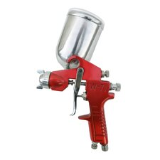 Gravity Feed Spray Gun with Aluminum Swivel Cup