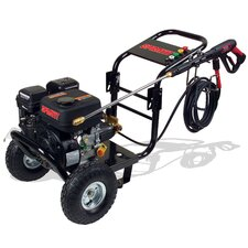 Portable Gasoline Cold Water Pressure Washer with 2500 PSI / 2.4 GPM / 7 HP