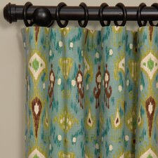 Hathaway Linen Rod Pocket Curtain Single Panel