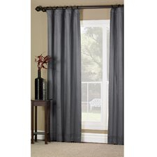 Dempsey Witcoff Cotton Rod Curtain Single Panel