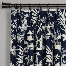 Presley Cotton Grommet Curtain Single Panel