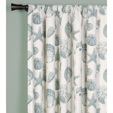 Shoreline Rod Pocket Curtain Single Panel