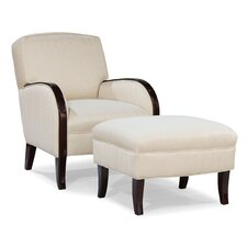 <strong>Fairfield Chair</strong> Abe Transitional Chair and Ottoman