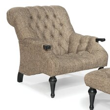 Tufted Sleepy Hollow Chair and Ottoman
