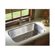 "McAllister 31.88"" x 18.06"" Undermount Single Bowl Kitchen Sink"