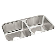 "Carthage 32"" x 18"" Double Kitchen Sink"