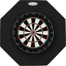 "<strong>Dart-Stop</strong> Pro Series 29"" Octagonal Backboard in Black"