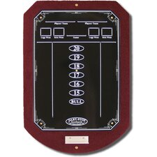 Burgundy ScoreStation with Glossy Black Wet-Erase Surface