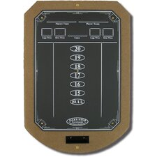 Tan ScoreStation with Matte Black Chalk Surface