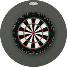 "Pro Series 29"" Round Backboard in Gray"