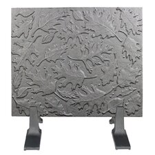 Leaves Cast Iron Fireback