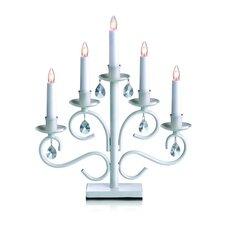 Iris Metal Candlestick