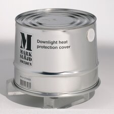 Heat Resistant Tin 19cm Downlight Housing