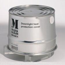 Heat Resistant Tin 19cm Downlight Housing