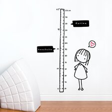 Piccolo Watch Me Grow! Girl Wall Decal