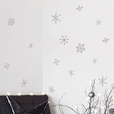 Christmas 2013 Snow Flakes Decals