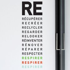 <strong>ADZif</strong> BlaBla Respirer Wall Decal
