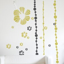 XXL Tumbling Blooms Wall Sticker