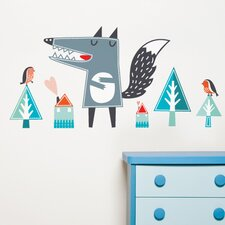 <strong>ADZif</strong> Piccolo Oscar The Wolf Wall Decal