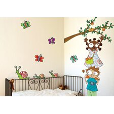 Ludo Apple Picking Wall Decal