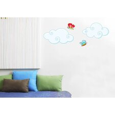 Ludo Clouds Wall Decal