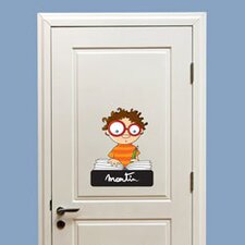 Ludo Door Sign - Boy Wall Decal