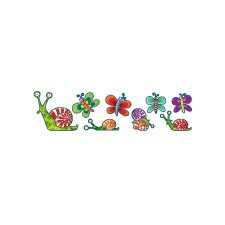 Ludo Snails Mini Wall Decal