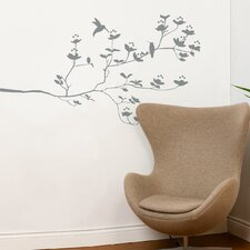 Spot Birds and Buds Wall Decal