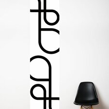 Unik Interlaced Wall Decal