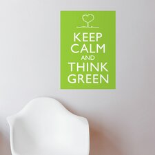 Blabla Think Green Wall Stickers