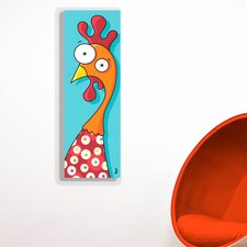 Canvas Rooster Wall Decal