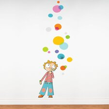 Ludo Bubbles Wall Stickers