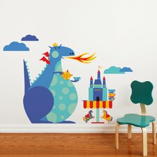 Piccolo Dragon Tea Party Wall Decal