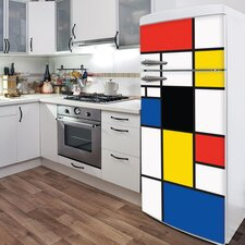<strong>ADZif</strong> Domo Pop Mondrian Wall Decal