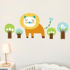 Piccolo Edgar the Lion Wall Sticker