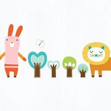 Piccolo Forest Friends Wall Sticker