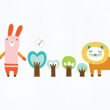 Piccolo Forest Friends Wall Sticker