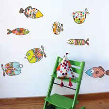 Ludo Big Fishes Wall Sticker