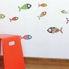 Ludo Fishes Wall Sticker