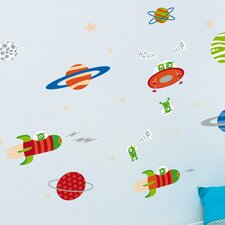 Piccolo Exploring Space Wall Decal