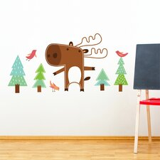 Piccolo Benjamin The Moose Wall Decal