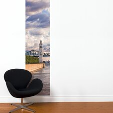 Unik on the Riverfront Wall Decal