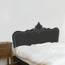 Cama Baroque Headboard Wall Decal
