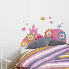 <strong>ADZif</strong> Cama Enchanted Castle Wall Decal