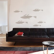 <strong>ADZif</strong> Spot School of Fish Wall Decal