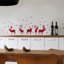 Christmas 2013 Reindeers Decals