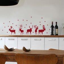 Christmas 2013 Reindeers Decals